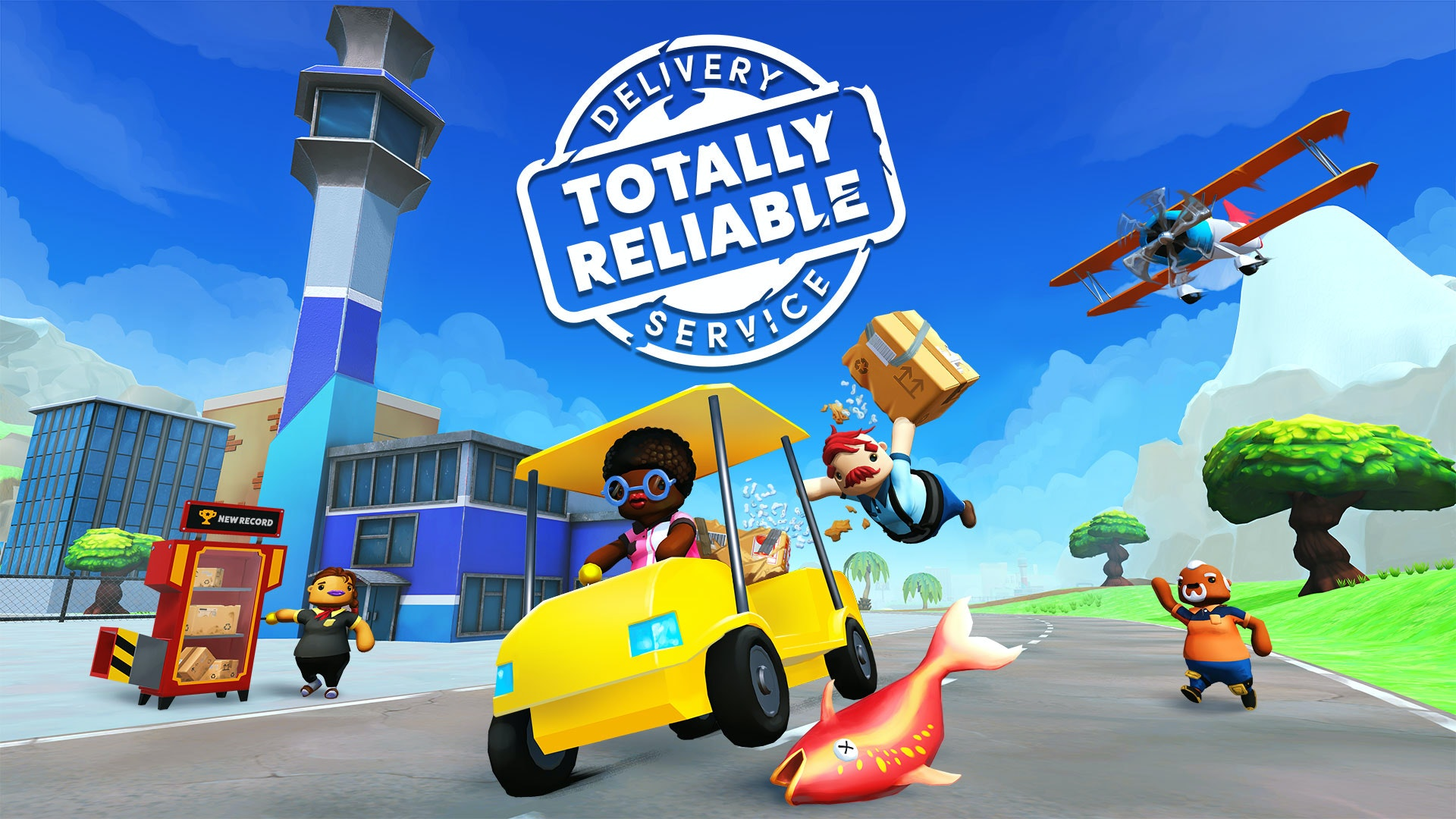 Totally Reliant Delivery Service - game image