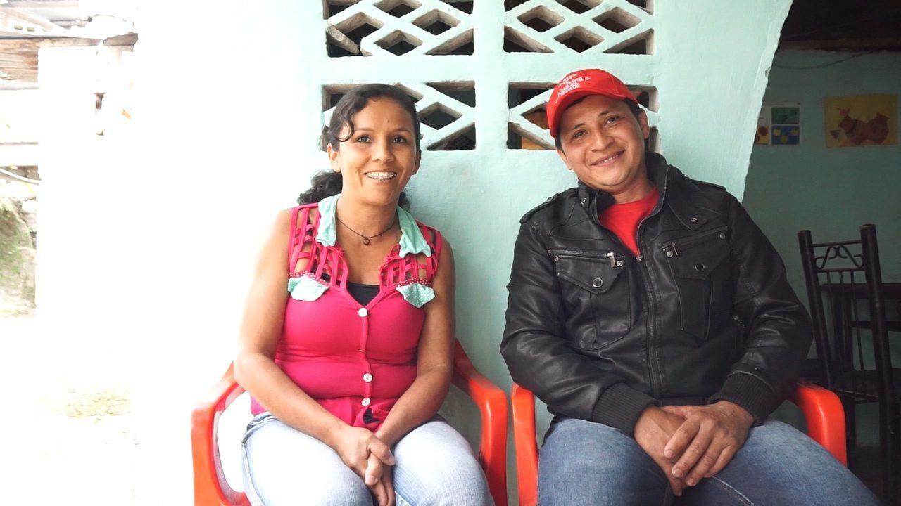 Edilfonso Yara and his wife Mirabel Martinez de Yara