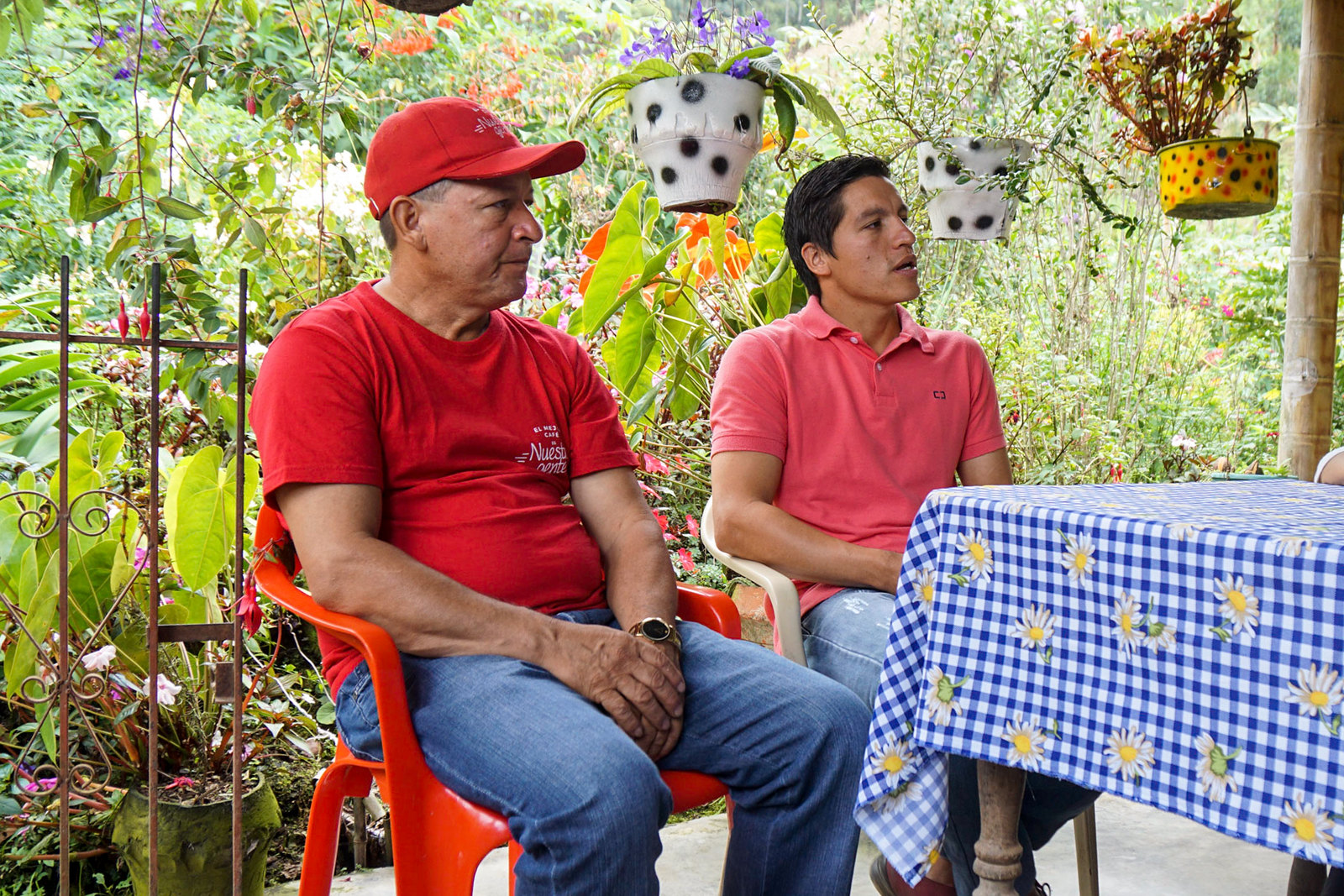 Jaime Casallas and his son Jaime Andrés Casallas