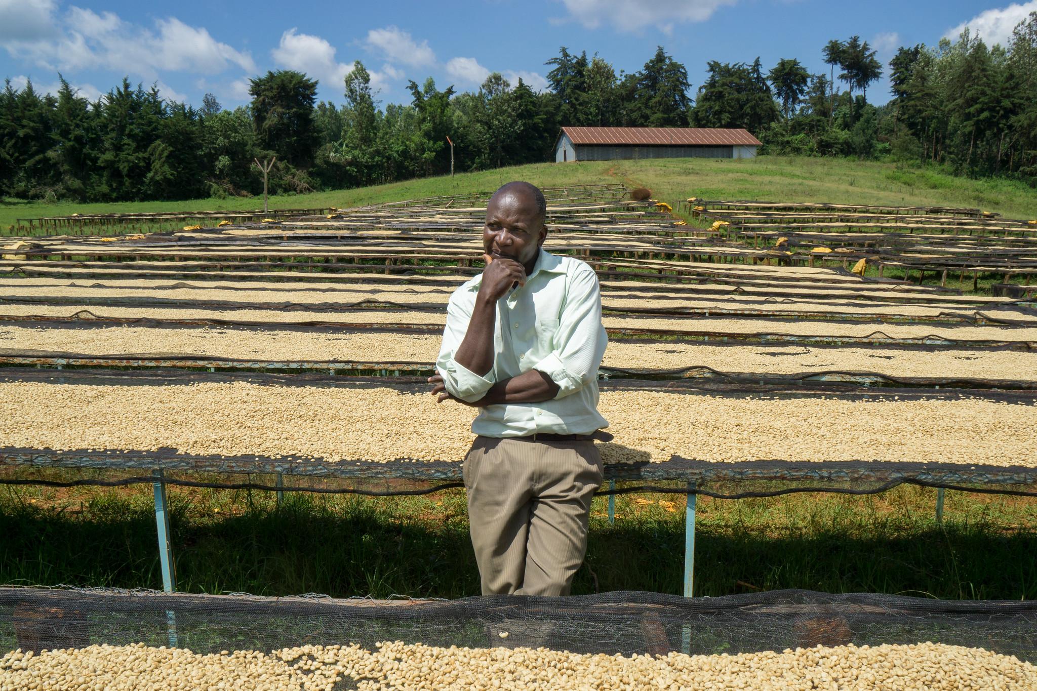 Kieni chairman Charles Murimi