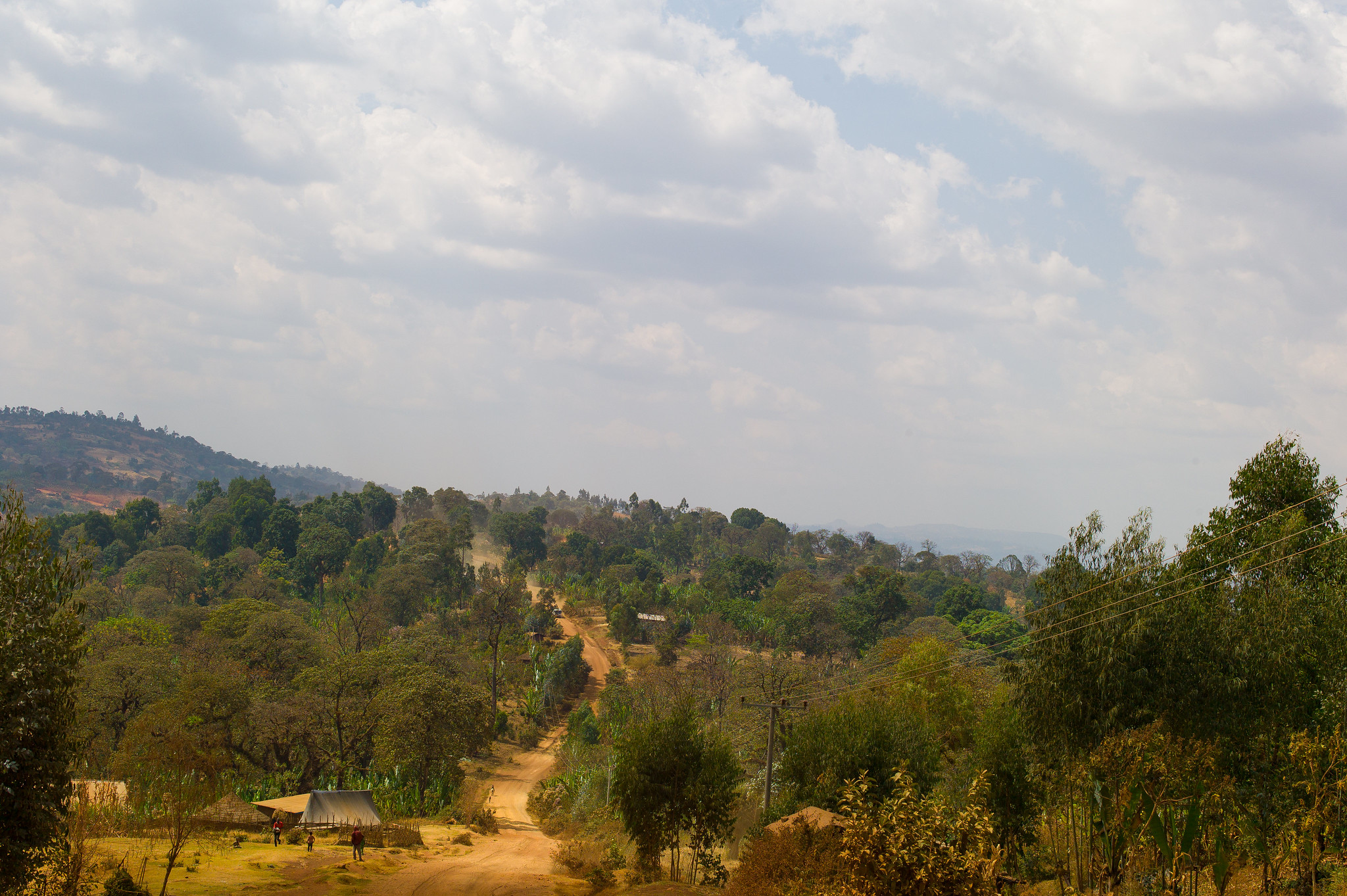 The road to Benti Nenqa