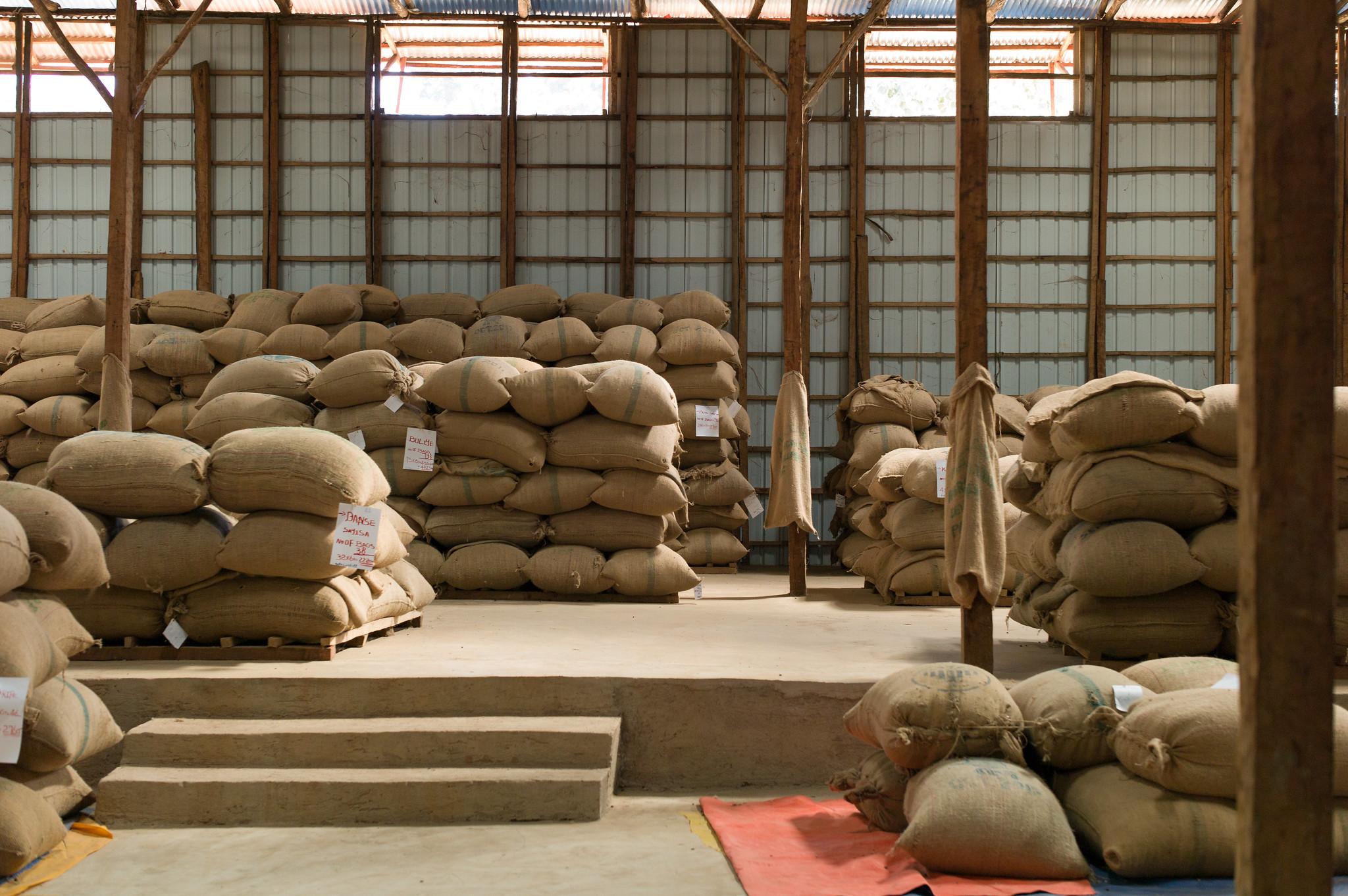 Warehouse at Hambela