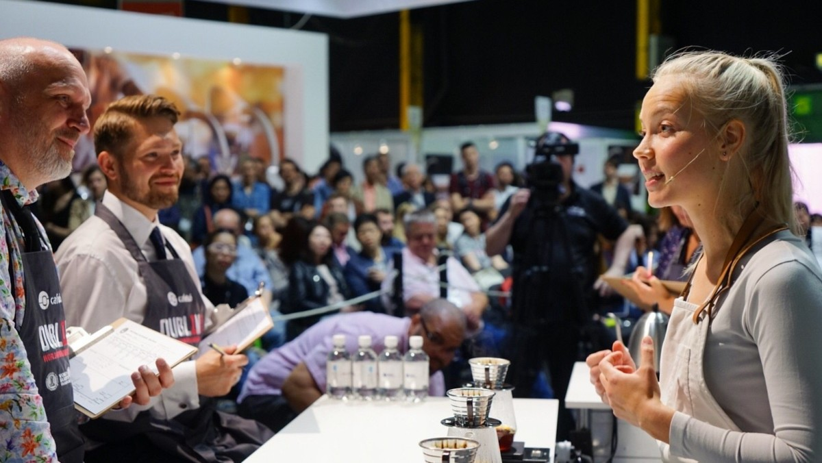 Mikaela Wins Silver in World Brewers Cup