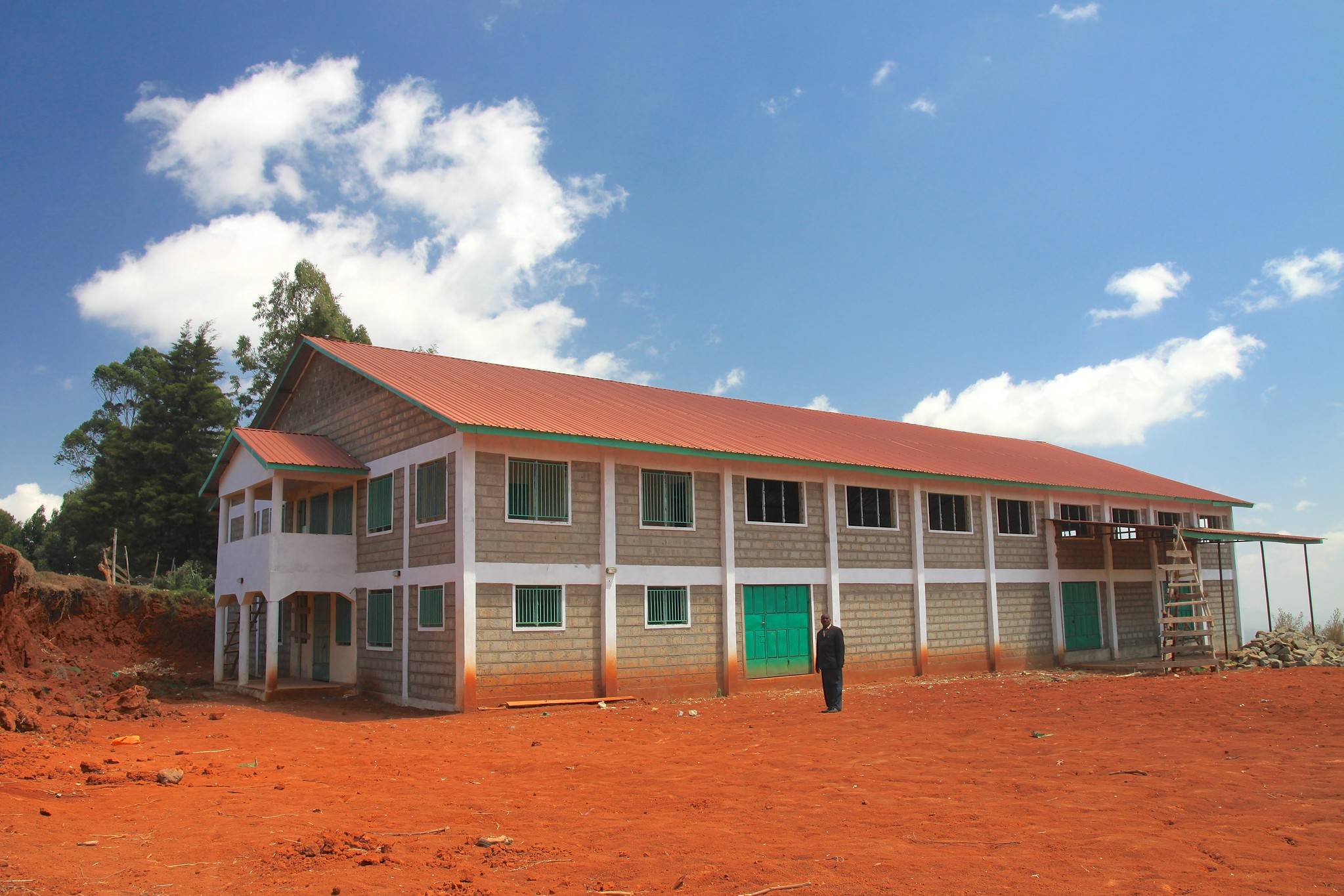 New Dry Mill in Embu build by the Murue Society. Expected to open next year.