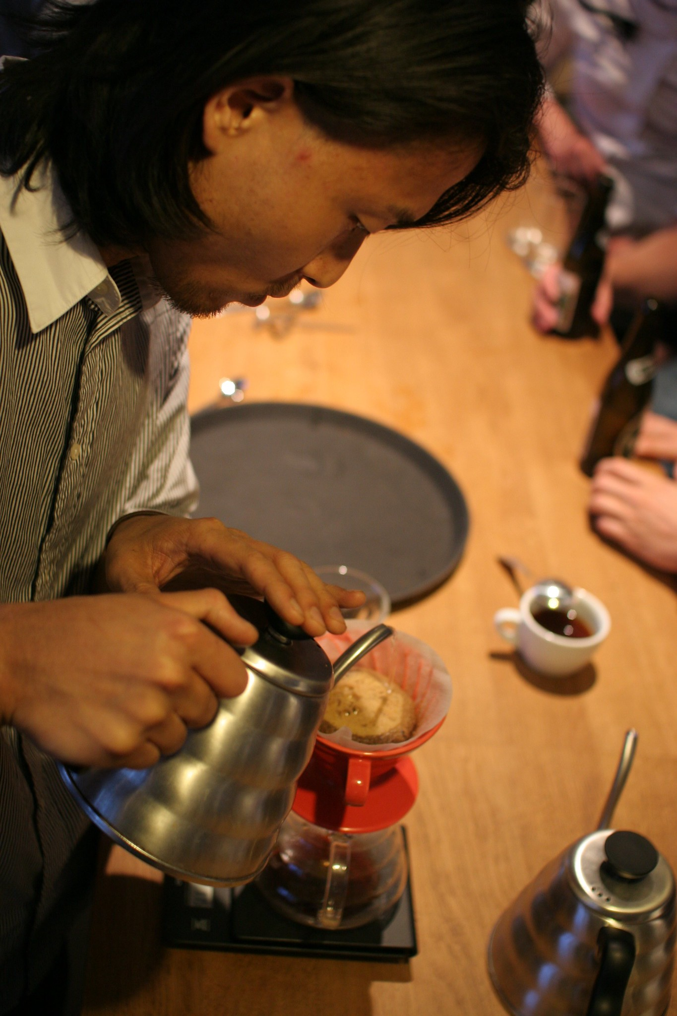 Winner: Nobuaki Matsui, or just Nobu - from Democratic Coffee. Winner of the Black Coffee Brew Down June 21st 2013.