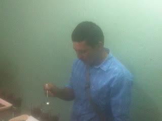 Edilfonso Yara cupping.