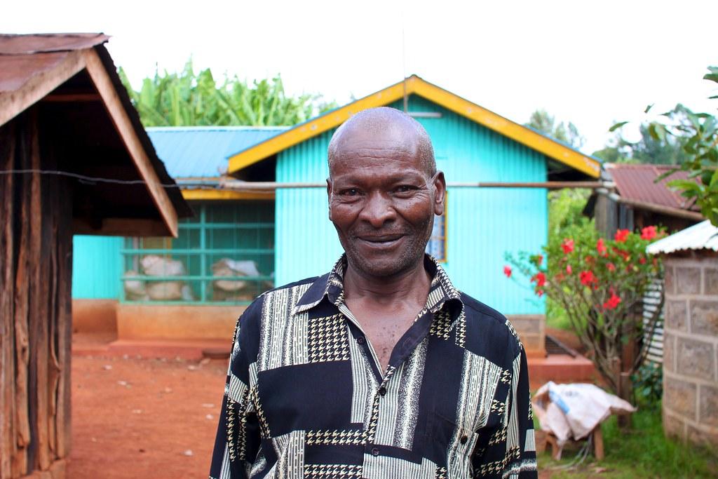 John Githaga Murage, Kieni smallholder.