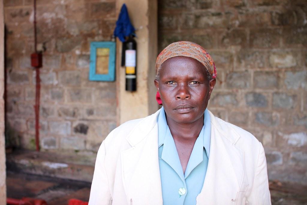 Veronica Wambyi Muibiri, Gichathaini factory manager.