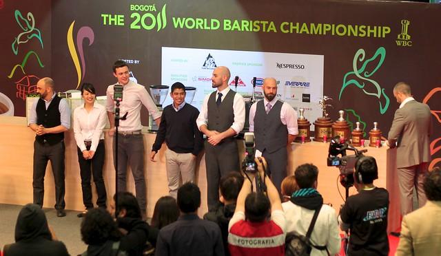 WBC 2011 Finalists.