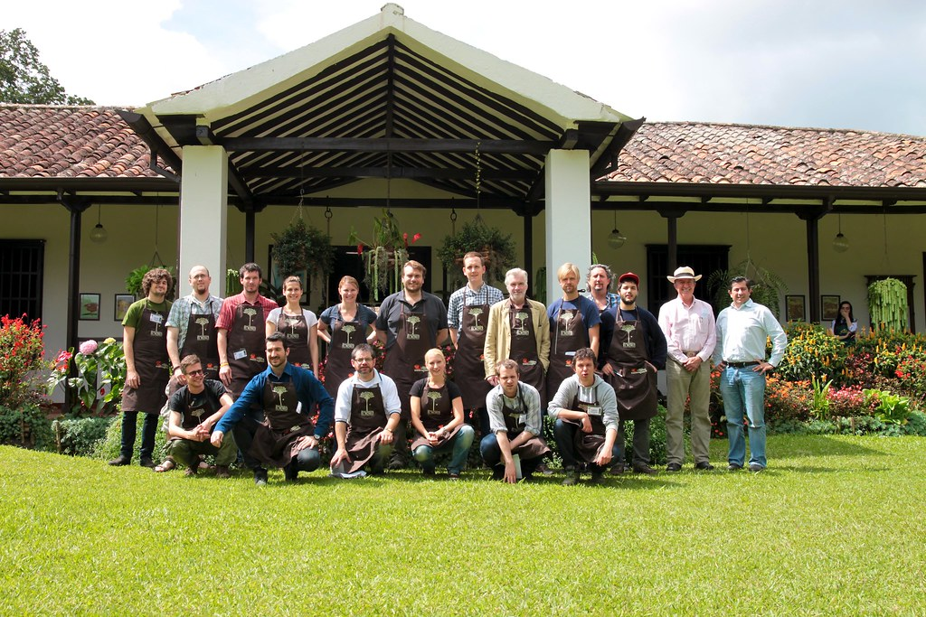 The 2011 Cupping Extravaganza participants.