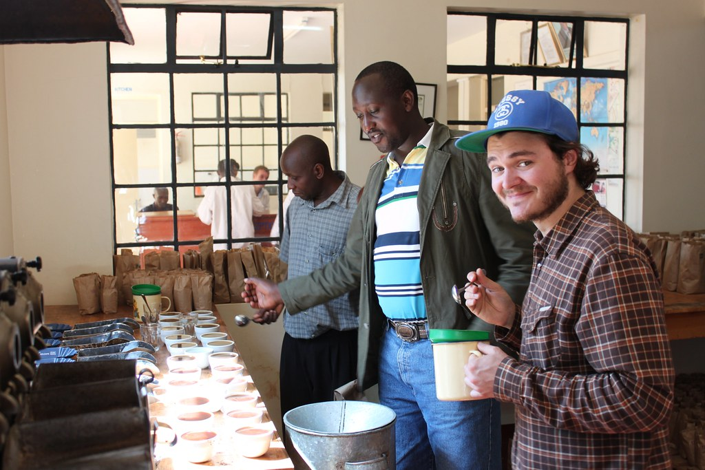 It was hard not to smile when you cupped their coffee next to these other ones. The Kieni blew the rest away.