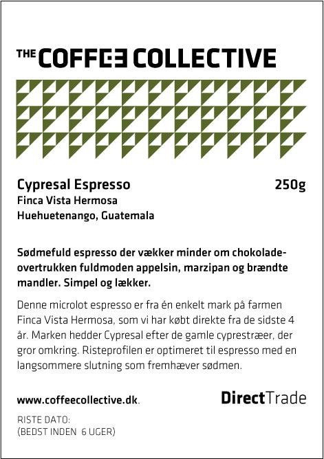 Cypresal Espresso.