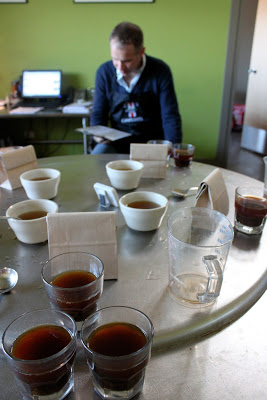 Cupping with Intelligentsia.