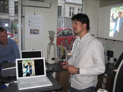 Edwin came to Copenhagen and talked about how they produce their wonderful coffee.