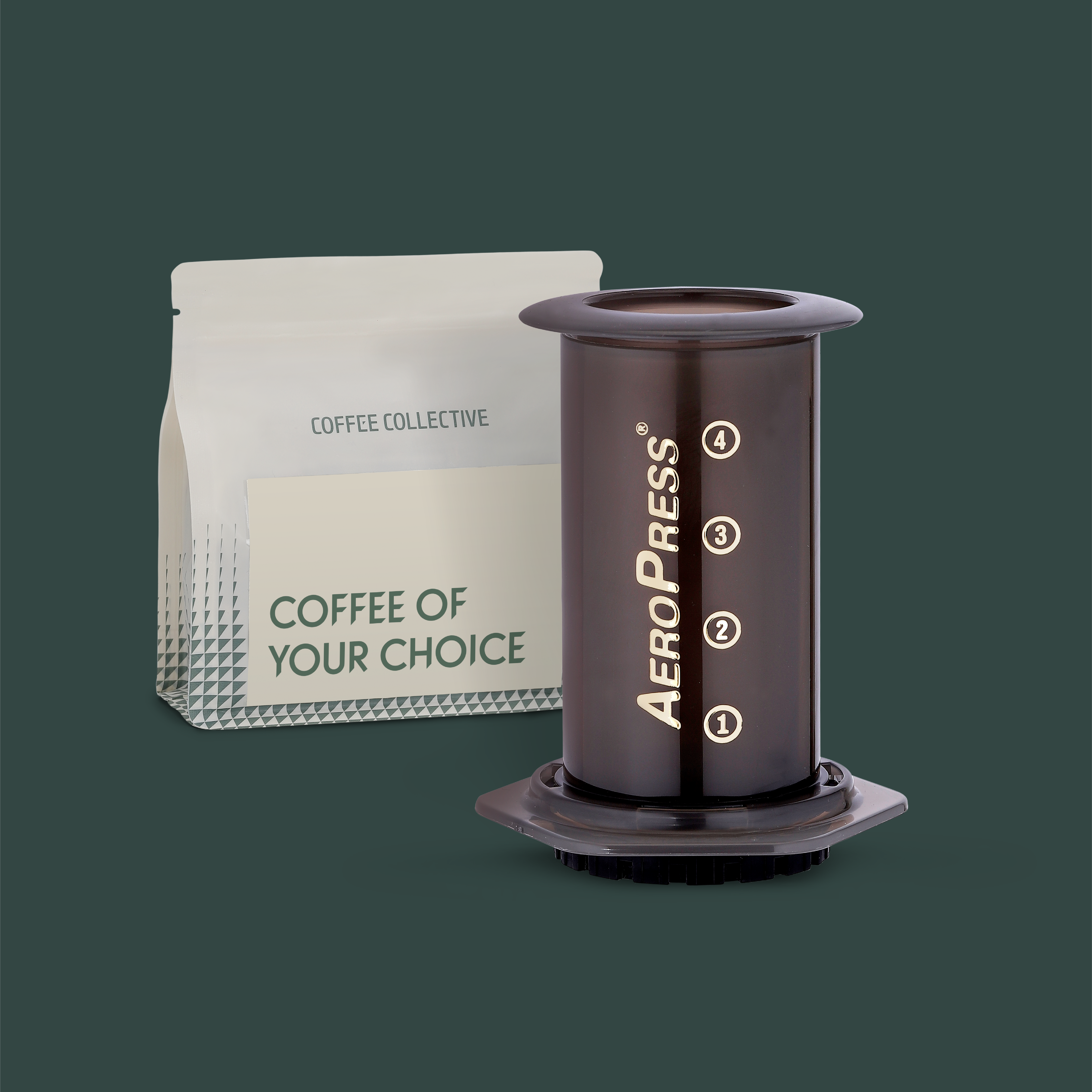 Choose a bag of coffee to go with the AeroPress Deal!