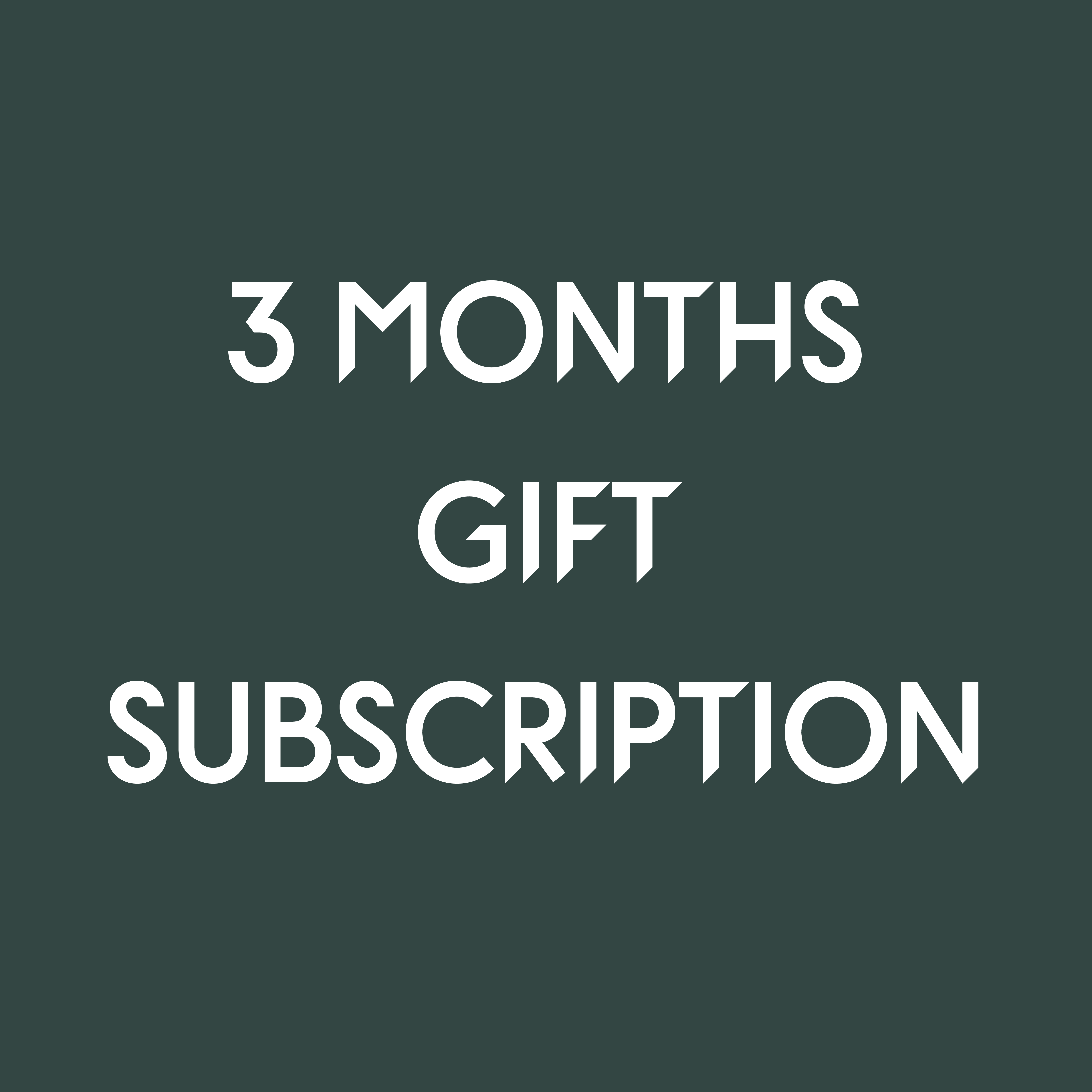 Need a gift in a hurry? Give 3 months of coffee delivered to the door!