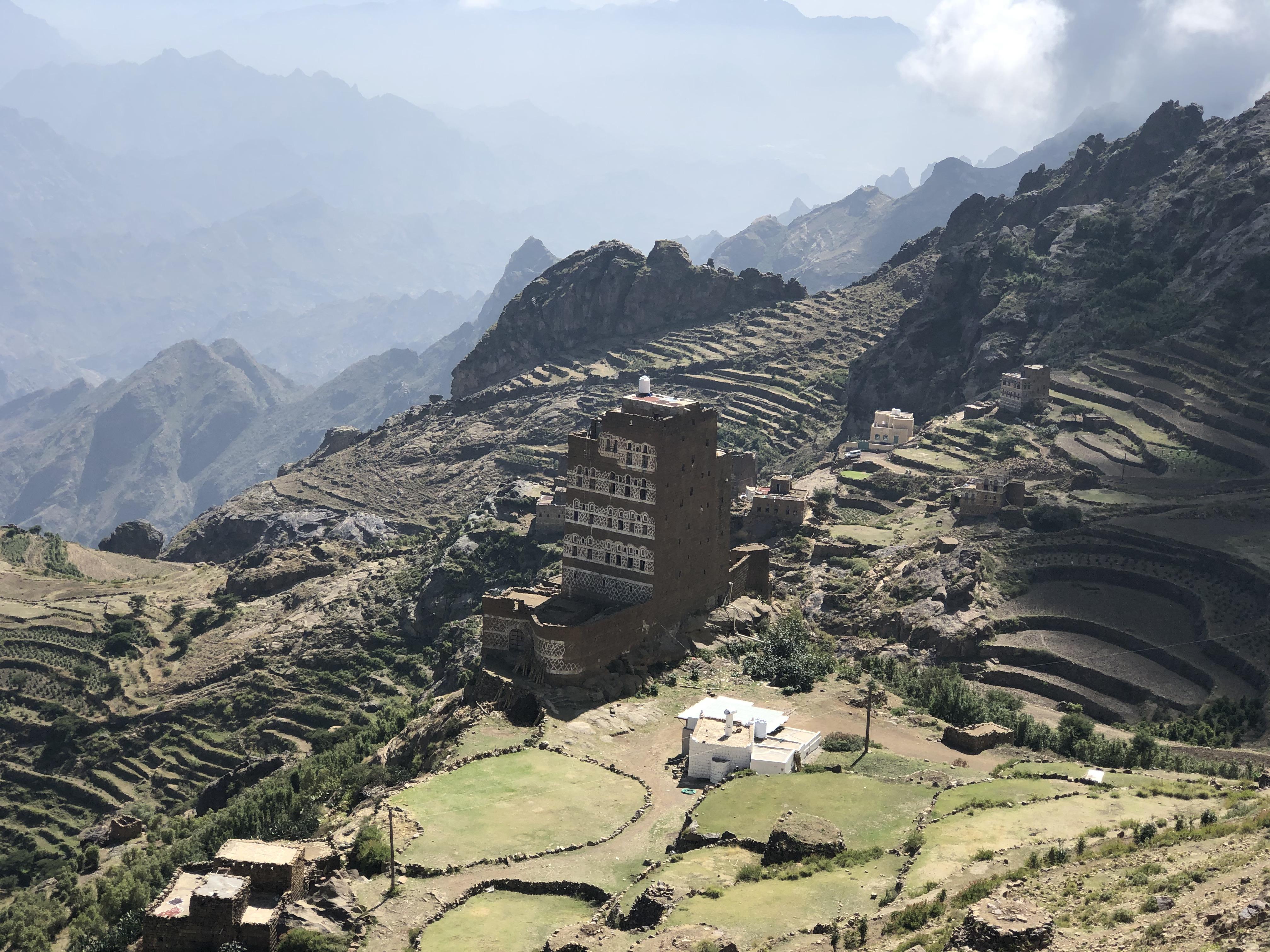 The coffee growing region of Sa'ada in Yemen is unlike anything we've seen before