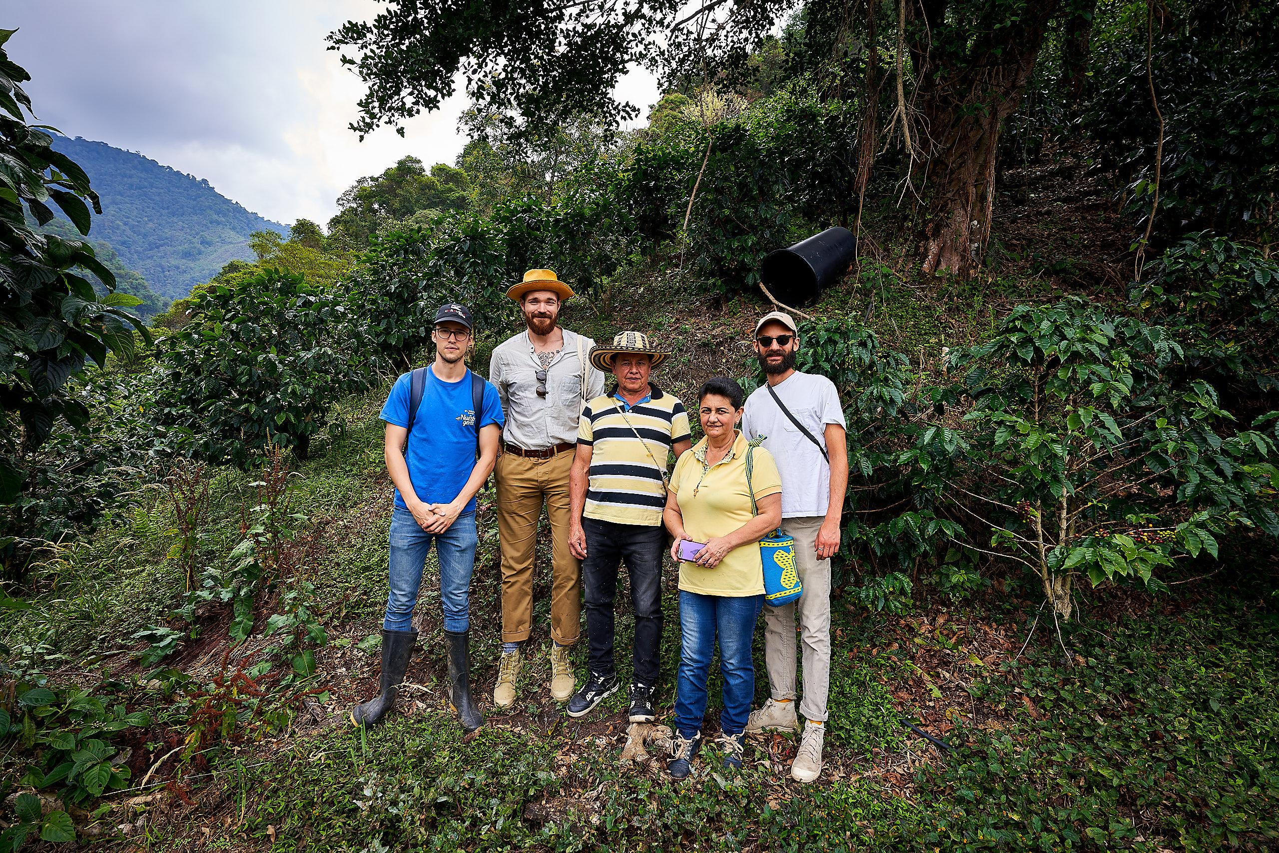 På vandretur med farmerne på deres land