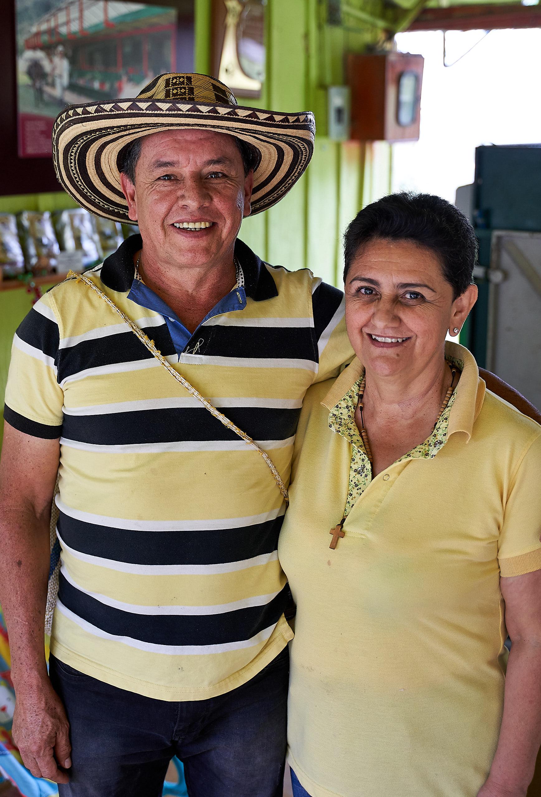 Wilson Rodriguez and Edith Enciso