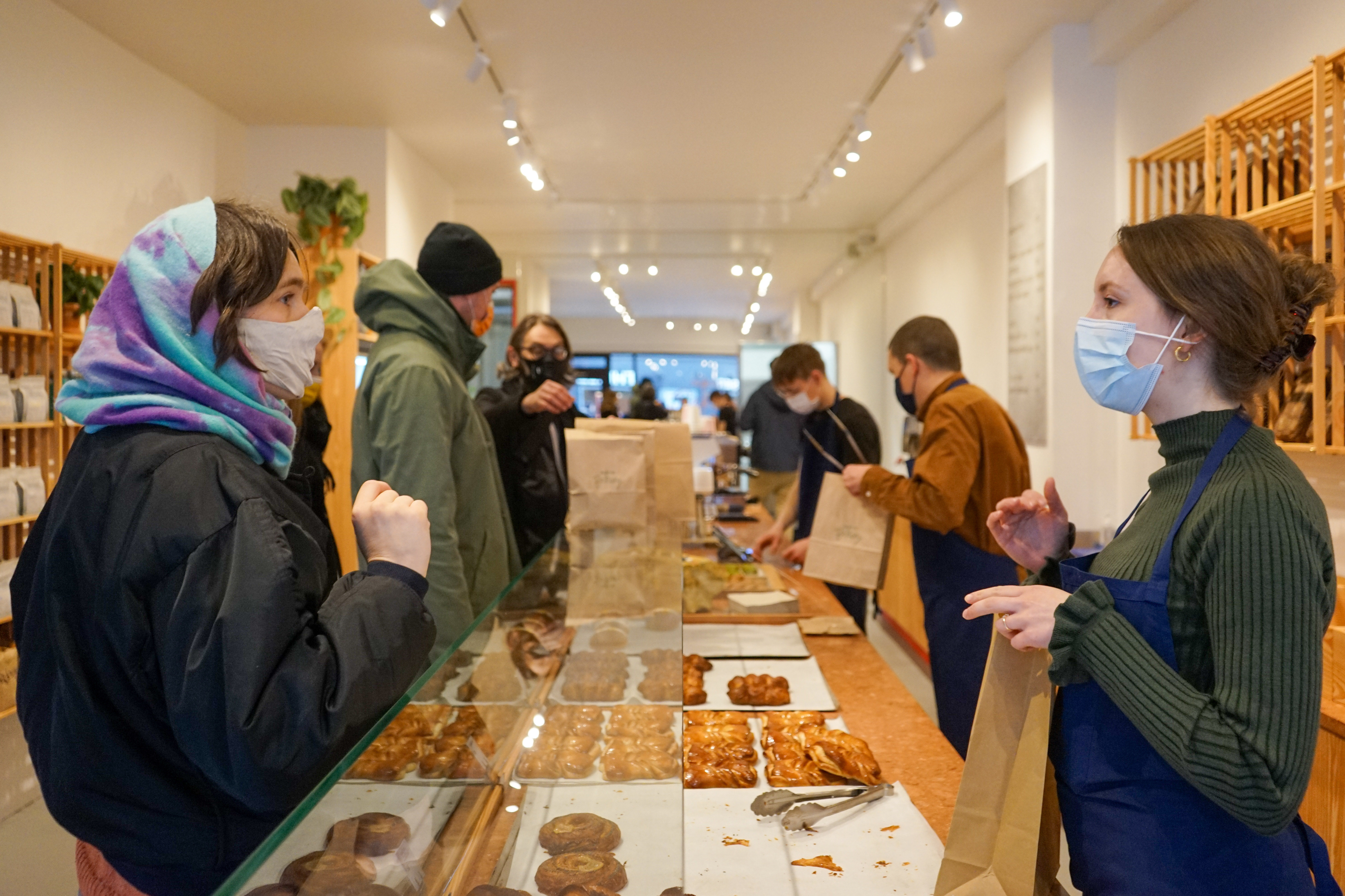 Opening day at Collective Bakery