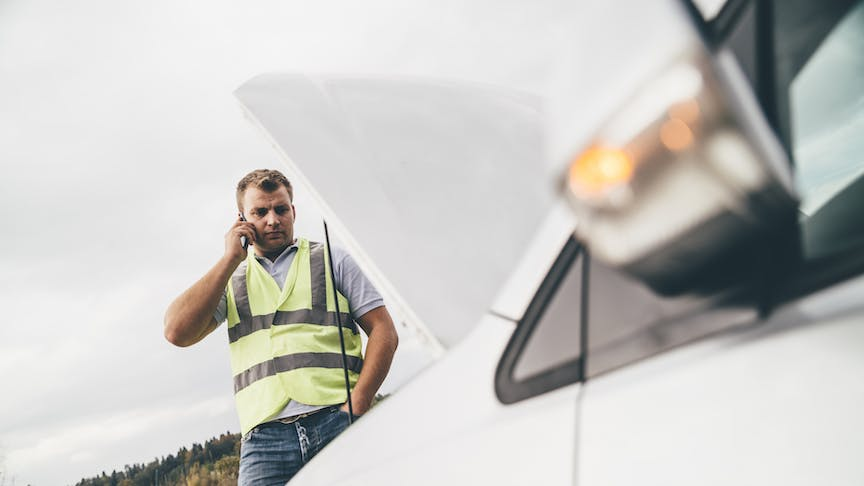 The top four reasons for roadside breakdowns