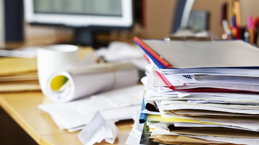 Eliminate paperwork to get more done in your day
